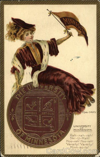 The University of Minnesota College Girl F. Earl Christy