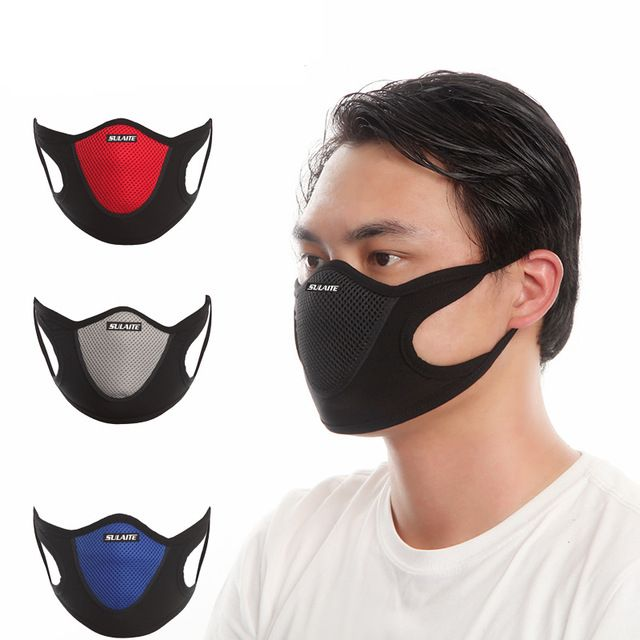 Autumn Winter Biker Windproof Outdoor Riding Mask Dustproof Breathing Face Mask