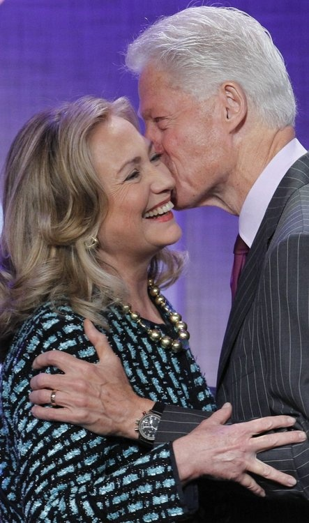 Hillary & Bill -- 2016.  Bill would be a great First Man!