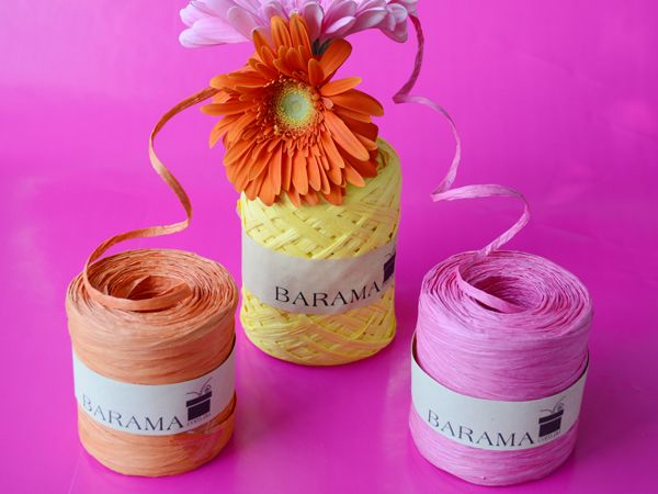 Paper raffia in an array of colours!