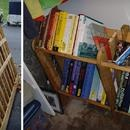 Book Frame: Recycle a Mattress Box Frame into a Book Shelf!