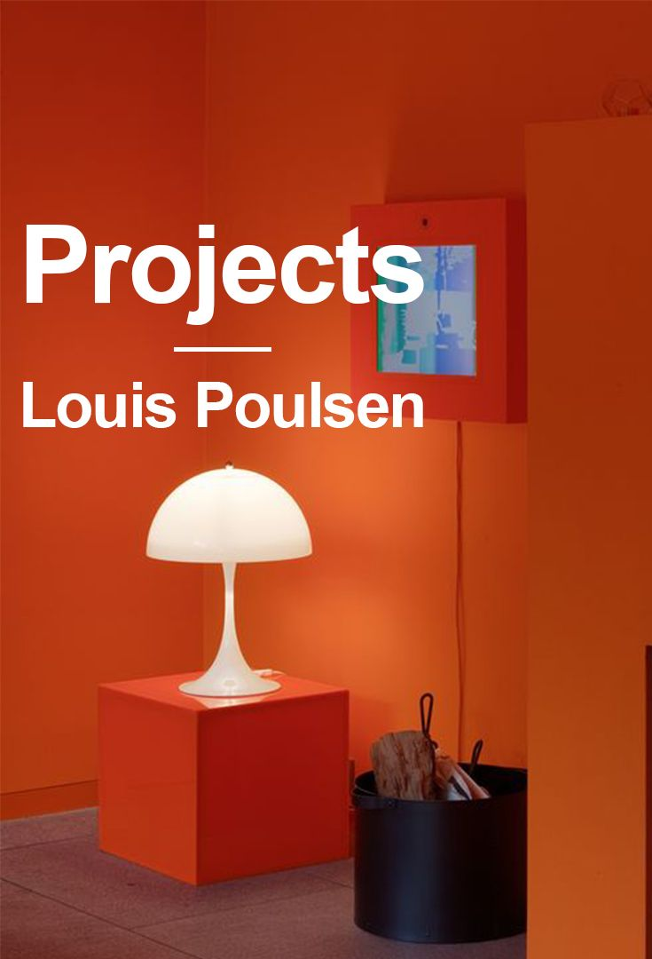 Check out all our project boards at our Louis Poulsen Pinterest page.  We have done many project around the world the last few years. Some of them is showcased here on our Pinterest profile. Look around and get inspired to use our lamps many of them with are designed by famous danish designers.