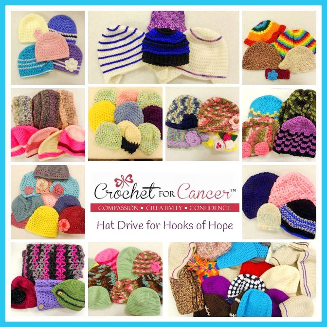 Crochet for Cancer CAL Charity Donations! #Crochet gives back! <3