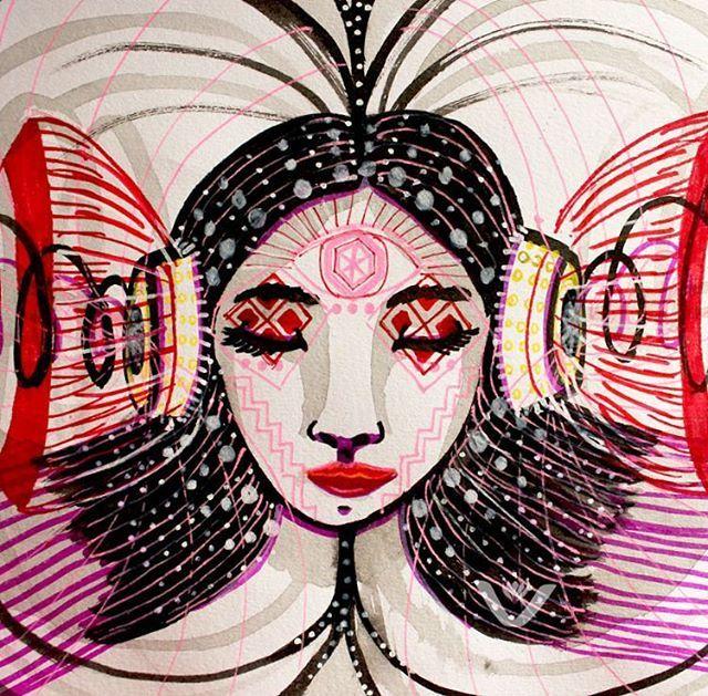 Viajera. Traveler. #drawings #viajera #traveler #mujer #women #dimension #dimention #meditation #meditacion #meditate #handmade #mente #mind #sketching #lapiz