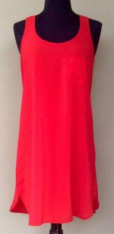 ids pocket tank dress cherry red $39.95   www.threadsandstyle.com.au