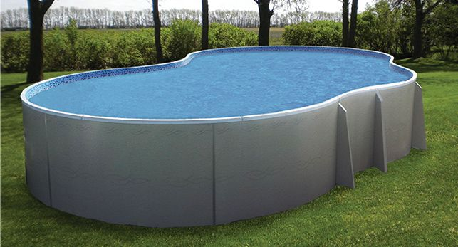 Performance pool and spa radiant above ground http www for Above ground fiberglass pools