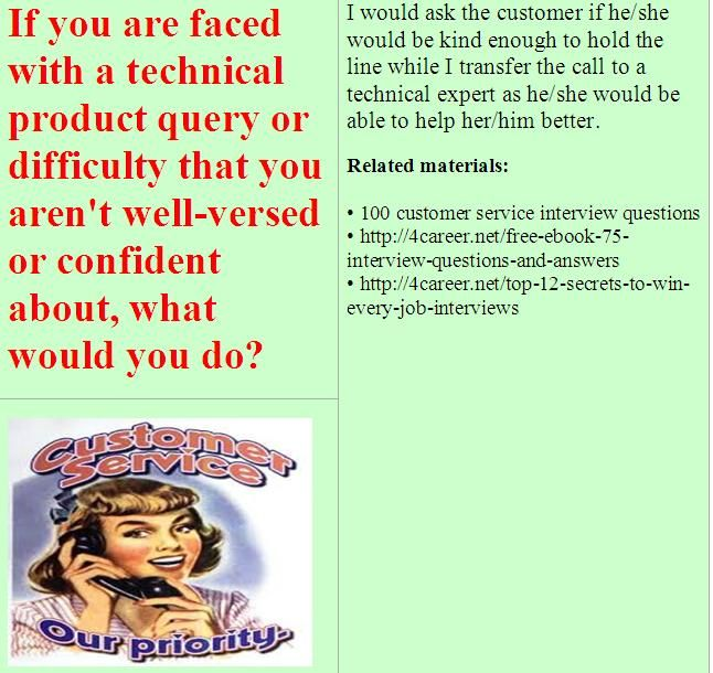 15 best images about customer service behavioral interview