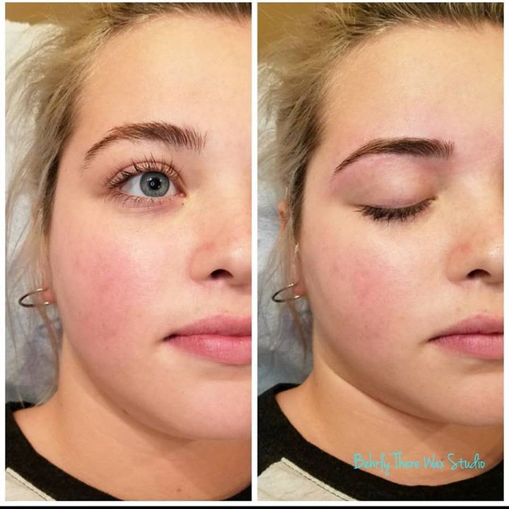 Brow wax! #waxstudio #dayton #ohio #waxing #esthetician #brazilianwaxing #eyebrowwaxing #lashlift #lashtint #browtint #beforeandafter