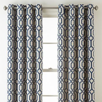Curtain Panels Blue Curtains Drapes For Window Jcpenney