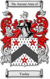 Yaxley Coat of Arms / Yaxley Family Crest