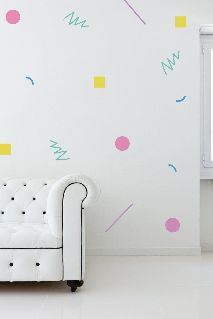 80 s decor wall