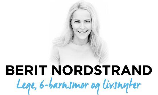 Berit Nordstrand – Lege, 6-barnsmor og livsnyter