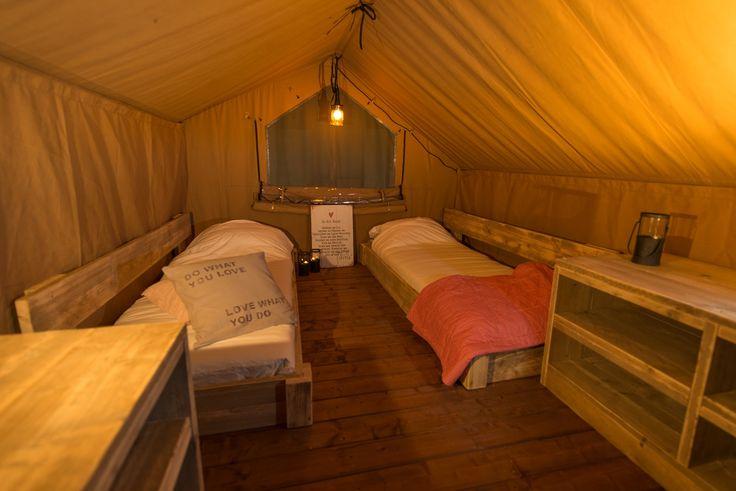 Bedroom inside safaritent 2015 www.luxetenten.com