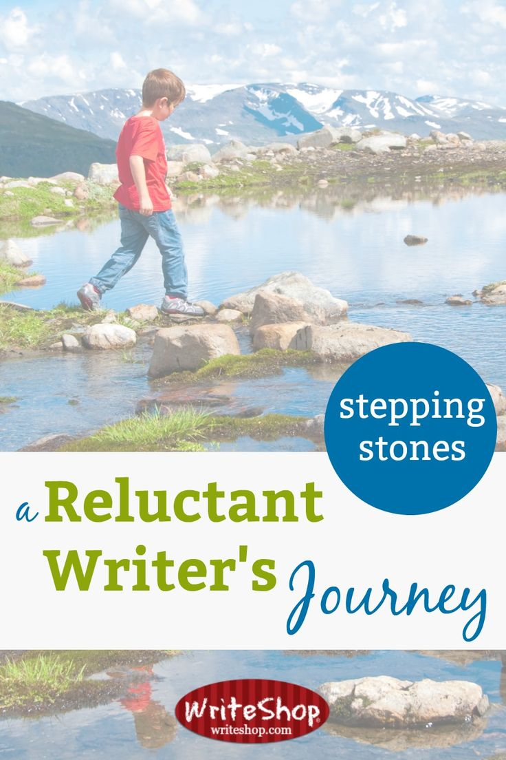 Stepping Stones: A reluctant writer's journey from struggling student to Master's degree