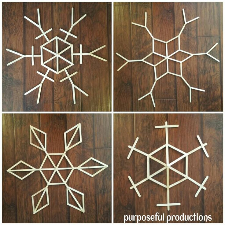 25 Days of Kindness: Day 11 Project Impact... #DIY #snowflakes #popsiclesticks #easy