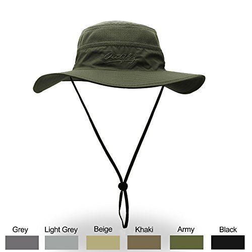 2cb87029b WELKOOM Sun Hat Men Women, Wide Brim UPF 50 UV Protection Beach Cap ...