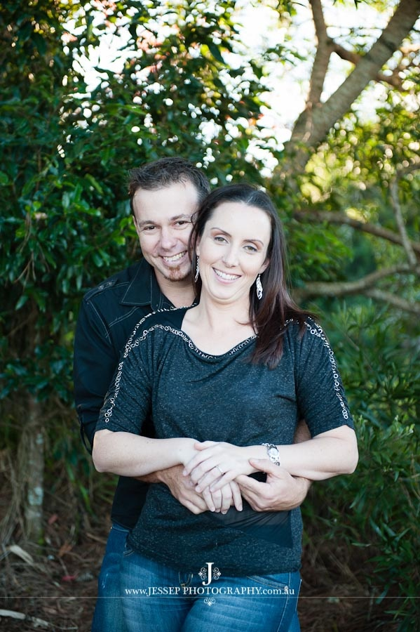 Christine and Lee Engagement Shoot at Maleny, Qld