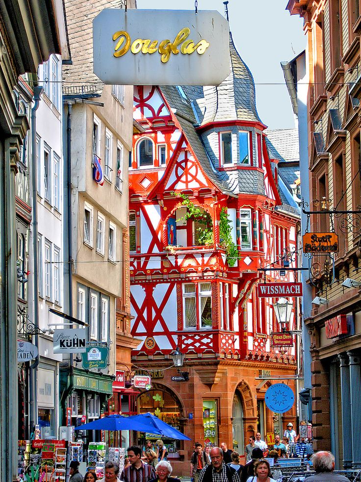 Marburg, Germany.  Our tips for 25 things to do in Germany: http://www.europealacarte.co.uk/blog/2011/11/21/what-to-do-in-germany/