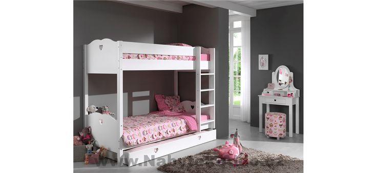 Dětský pokoj pro tři holky Amori