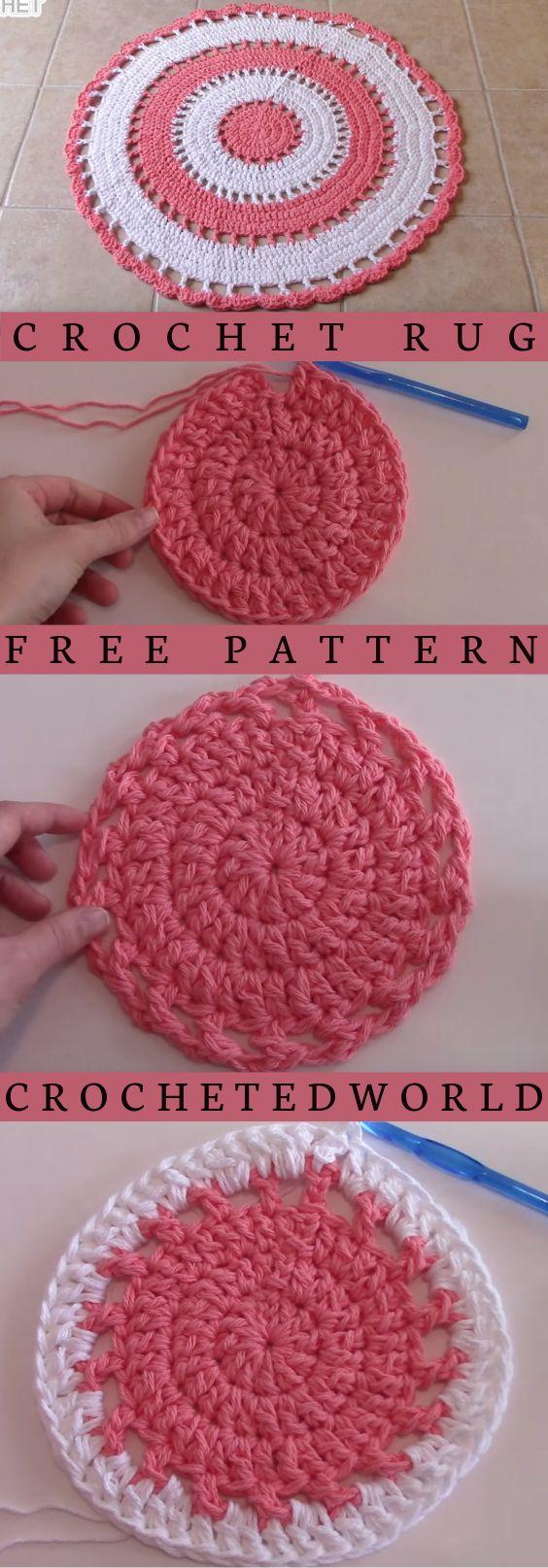 Crochet Rug For Beginners