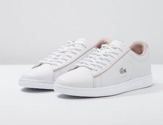Tendance Sneakers : Lacoste CARNABY EVO Baskets basses white Baskets Lacoste femme Zalando Ventes-pas-cher.com