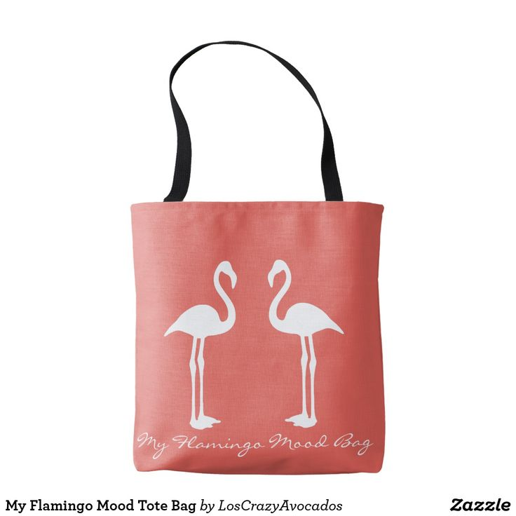 My Flamingo Mood Tote Bag