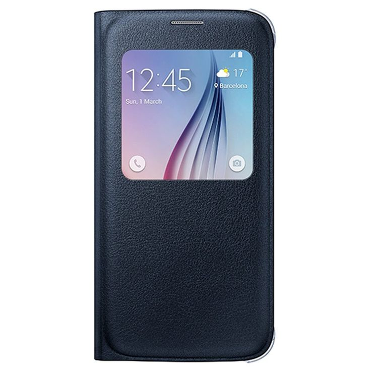 Samsung Galaxy S6 S-View Flip Veske EF-CG920PB - Svart