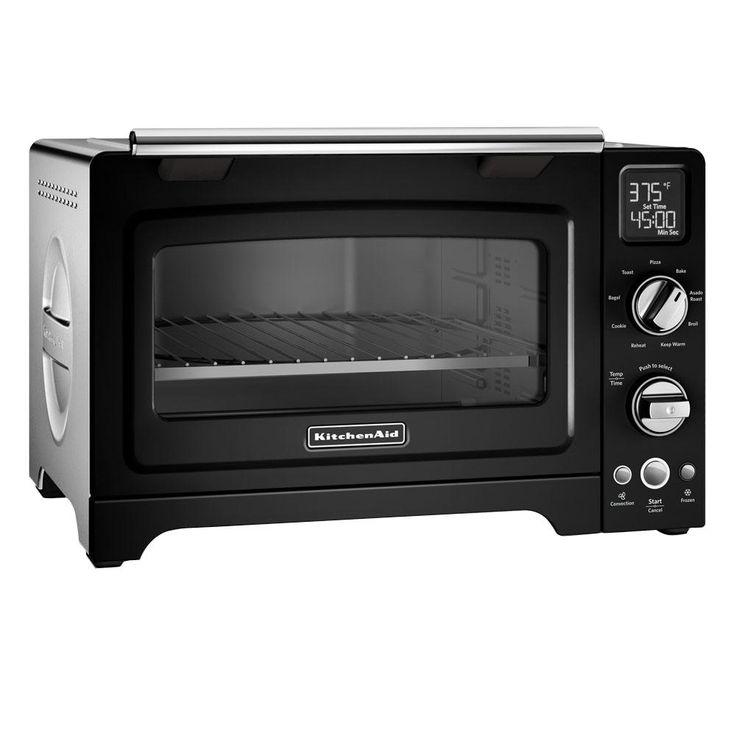 Kitchenaid 2000 w 4slice white convection toaster oven