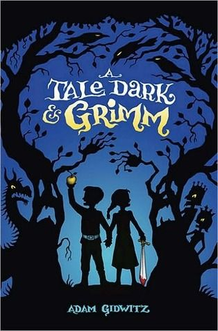 A Tale Dark & Grimm by Adam Gidwitz  252pgs, Published October 2010  In this mischievous and utterly original debut, Hansel and Gretel walk out of their own story and into eight other classic Grimm-inspired tales. As readers follow the siblings through a forest brimming with menacing foes, they learn the true story behind (and beyond) the bread crumbs, edible houses, and outwitted witches.