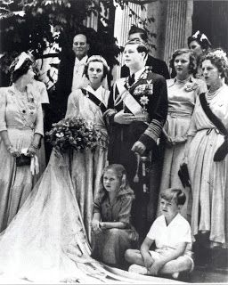 King Michael and Queen Anne of Romania.