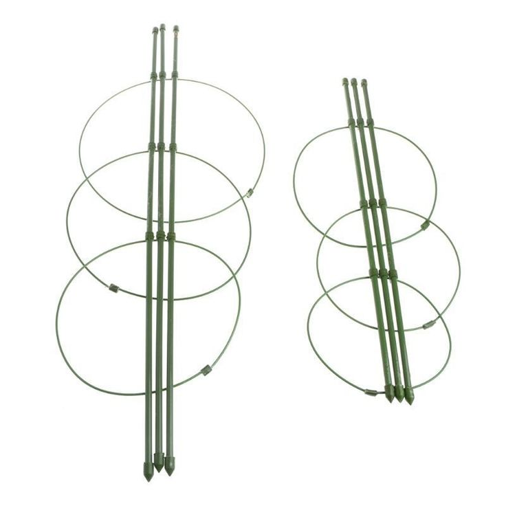 These economical conical shaped wire cages are a great way to support small tomato plants, peppers, eggplants, perennials, or other garden and flowering plants. Designed specifically for growing tomato plants and other climbing fruits and vegetables. | eBay!