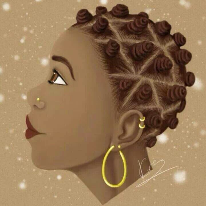 Natural Hair Art Pinterest