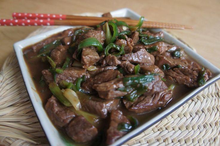Carne Mongoliana, ¡la más deliciosa y simple receta de la comida China hoy en tu casa!