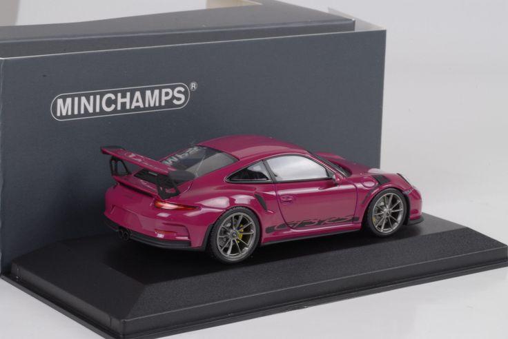 2016 Porsche 911 991 GT3 RS sternrubin 1:43 Minichamps Diecast in Modellbau, Auto- & Verkehrsmodelle, Autos, LKW & Busse | eBay