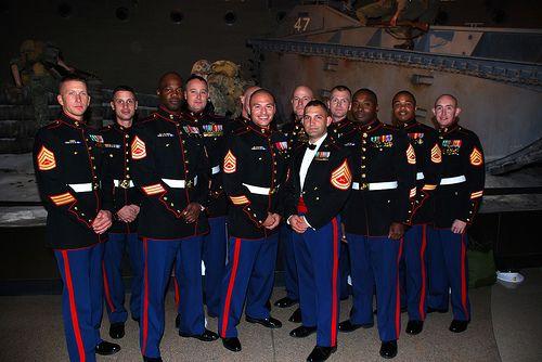 Marine corps dress blues sale