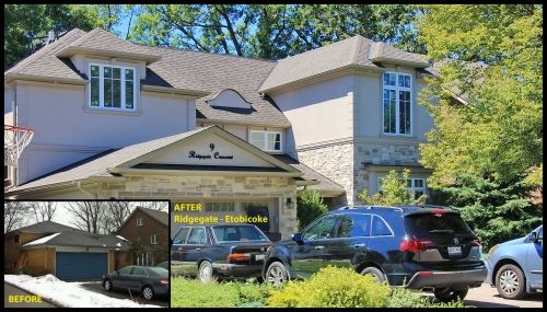 Before & After home renovation: Ridgegate- Etobicoke Ontario CAN #renovation #modularhome