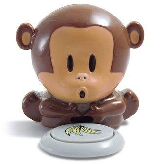 Blow monkey for drying nail polish