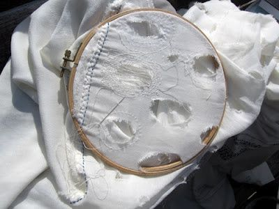 """""""The act of sewing is a process of emotional repair. """" Louise Bourgeois"""