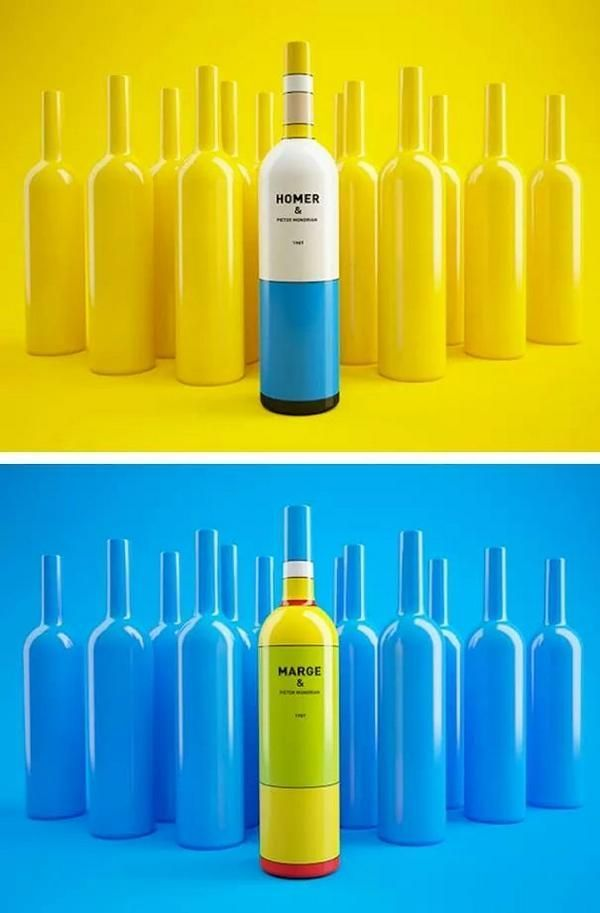 심슨 와인 패키징
