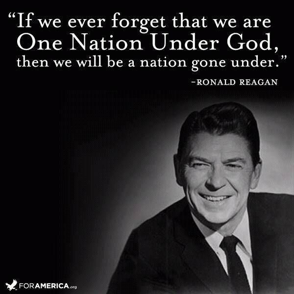 If we ever forget quote by Ronald Reagan for the 4th of JulyCourageous Christian Father