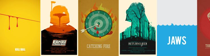 Minimalistyczne (i nie tylko) plakaty filmowe  –  Grafmag.