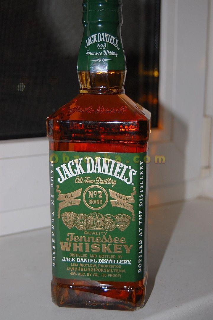 Jack Daniels Green label или ранний кукурузный виски из Тенесси