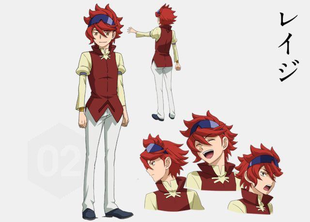 Reiji - Gundam Build Fighter