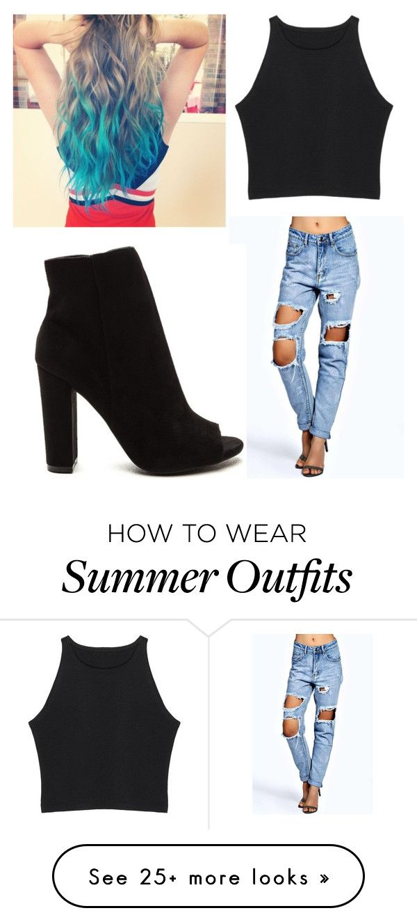 """""""Casual Summer Outfit"""" by saigonpalace on Polyvore featuring Boohoo"""