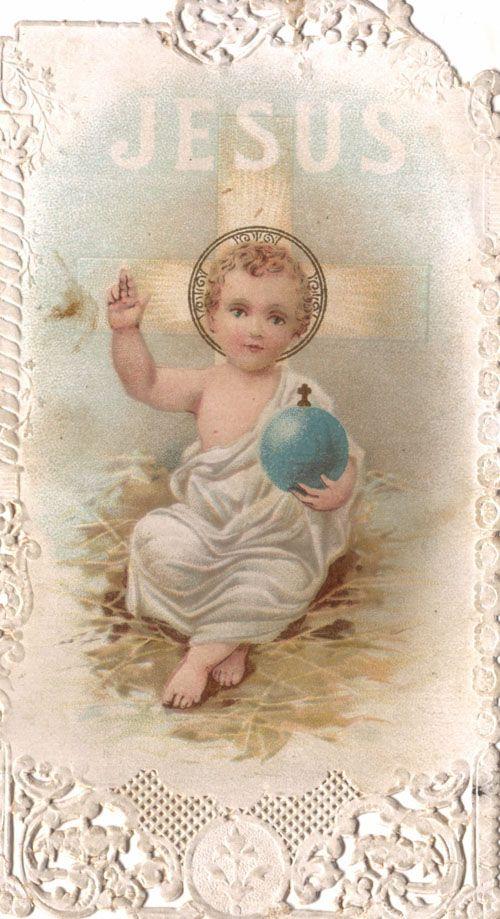 gesu bambino jesus king of the world