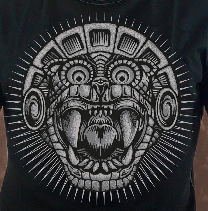 Resultado de imagen para guerrero jaguar tatuaje for Aztec mural tattoos