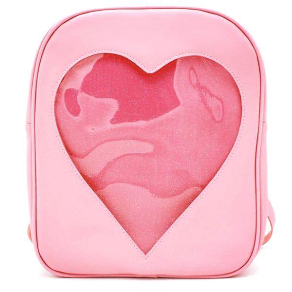Heart Glitter Backpack