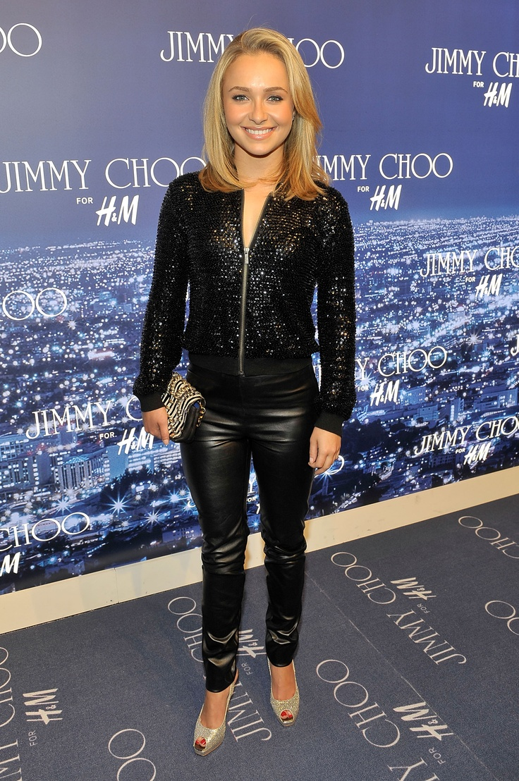 Hayden Panettiere  Love that she is short but still has style of her own and her hair is cute....Should i grow my bangs out like her?