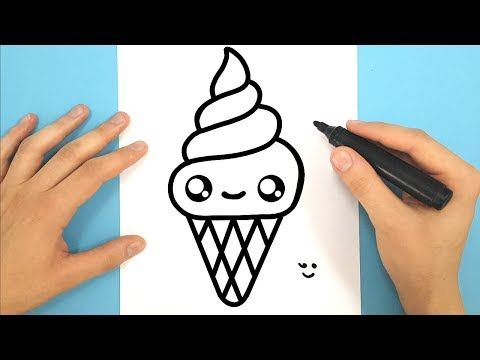 Comment Dessiner Une Glace Italienne Kawaii Youtube Dessin