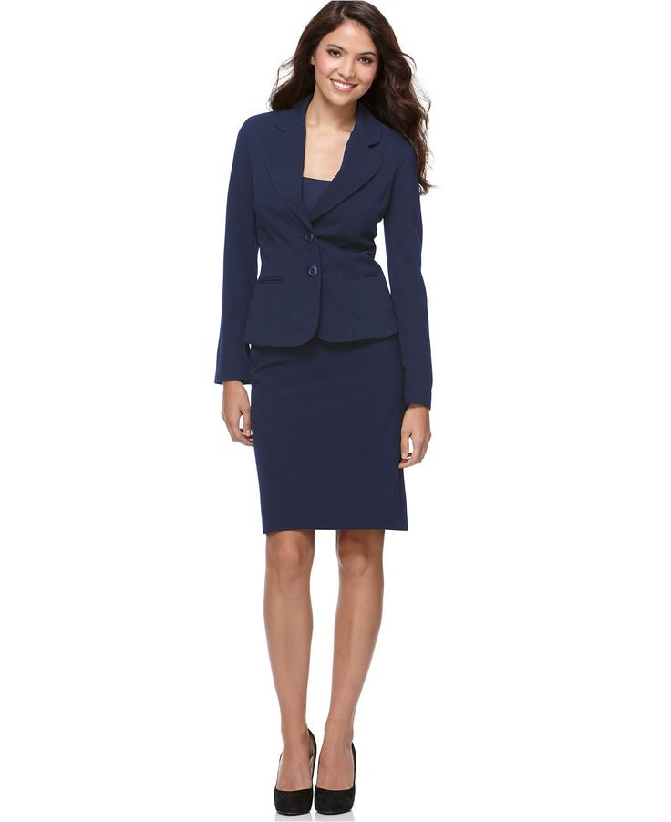 Womens Blue Suit Jacket
